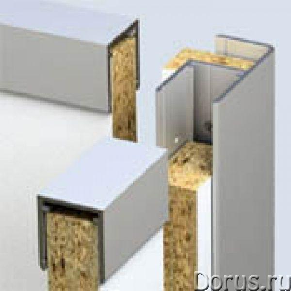 Профиль для сантехнических перегородок - Материалы для строительства - Система профилей включает 5 в..., фото 1