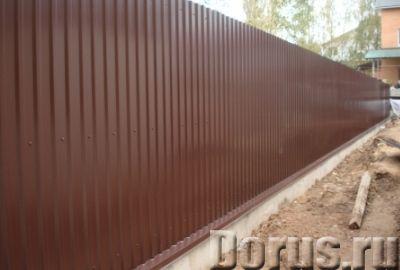 Изготовление заборов из профнастила - Строительные услуги - Наша компания предлагает изготовление и..., фото 2