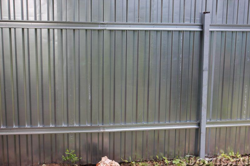 Изготовление заборов из профнастила - Строительные услуги - Наша компания предлагает изготовление и..., фото 3