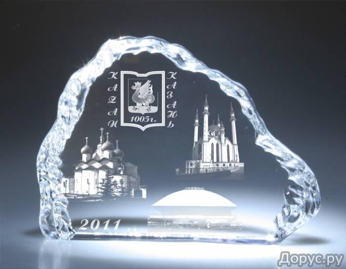 Стекло с гравировкой - Рекламные услуги - Сувениры из стекла Лазерная гравировка в стекле Гравировка..., фото 2