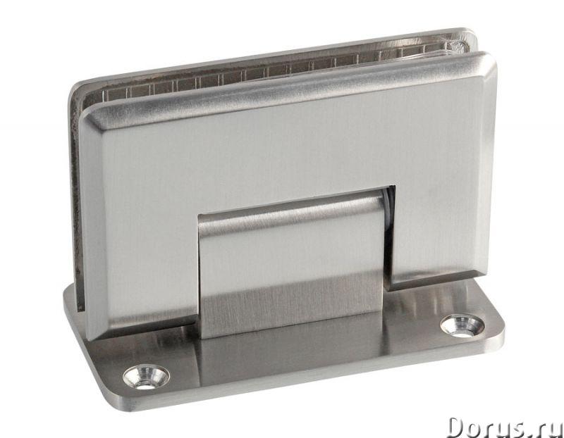 Петли для стеклянных перегородок - Ремонт и отделка - Петли для стеклянных дверей , стекло-стекло уг..., фото 1