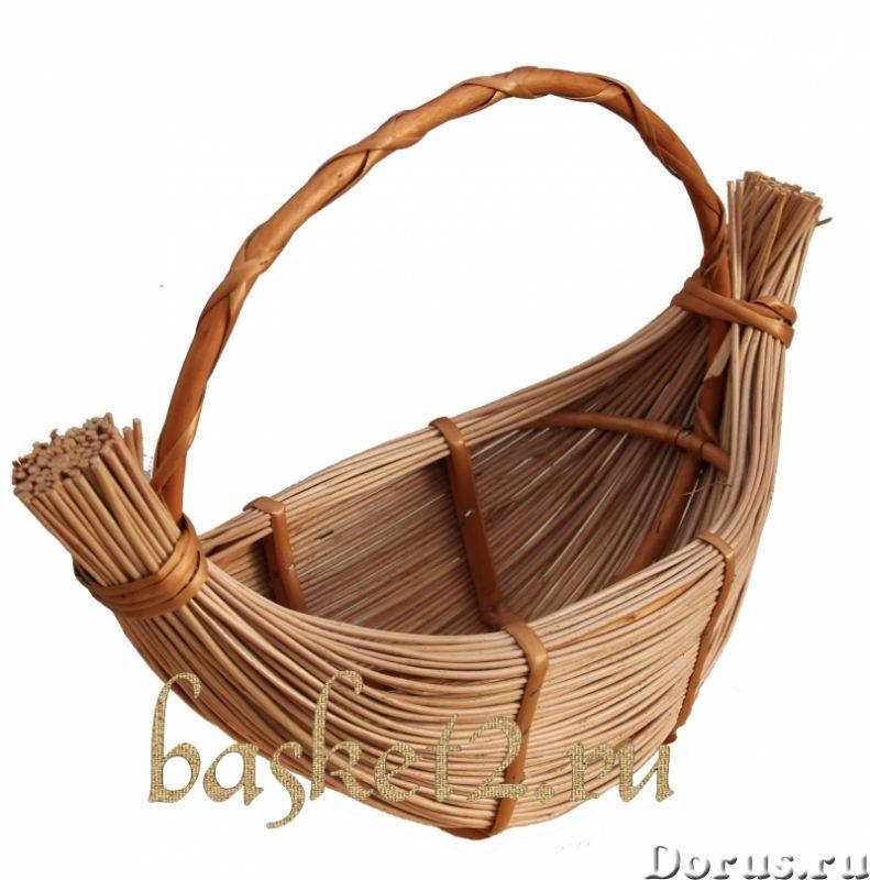 Плетеные корзины, изделия из дерева, сувенир. ОПТ - Товары для дома - Предлагаем оптовые поставки пл..., фото 1