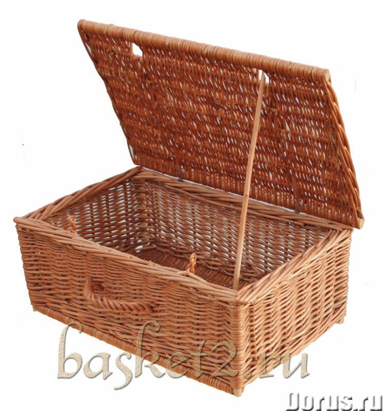 Плетеные корзины, изделия из дерева, сувенир. ОПТ - Товары для дома - Предлагаем оптовые поставки пл..., фото 3
