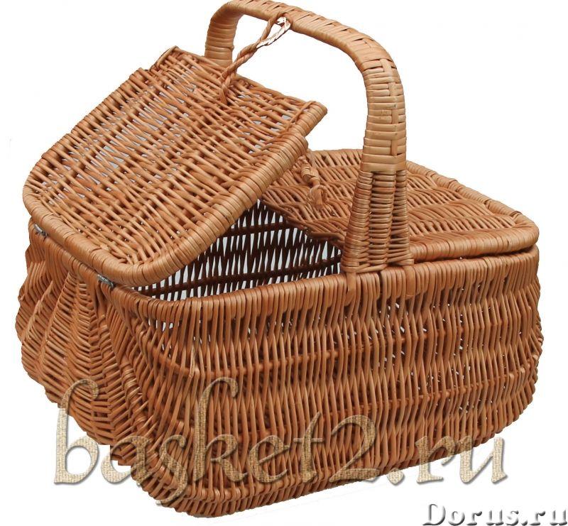 Плетеные корзины, изделия из дерева, сувенир. ОПТ - Товары для дома - Предлагаем оптовые поставки пл..., фото 4