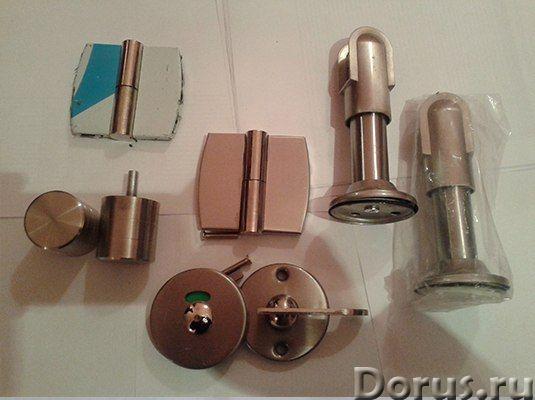 Металлическая фурнитура для сантехнических кабин - Материалы для строительства - Материал: цинк. Ком..., фото 1