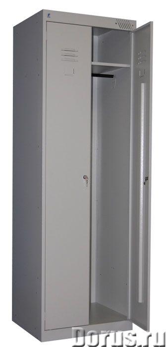Металлический шкаф для одежды - Офисная мебель - Предлагаю Металлические шкафы серии ШРК разных разм..., фото 3