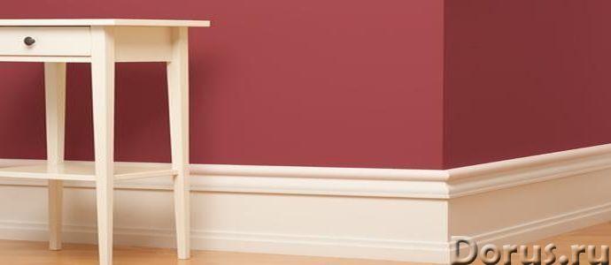 Плинтус Белый - Ремонт и отделка - Деревянный плинтус, который в прошлом был весьма распространен за..., фото 1