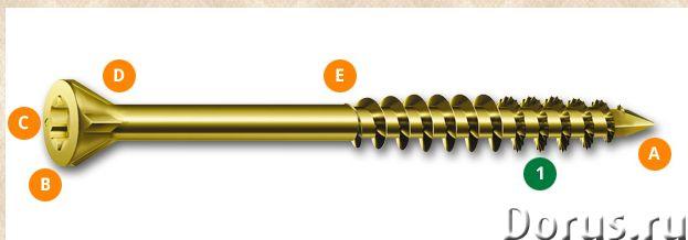 Саморезы Spax 3,5 х 35 мм - Материалы для строительства - Шуруп Spax 3,5x35 мм (500 шт/упак) - спец..., фото 1