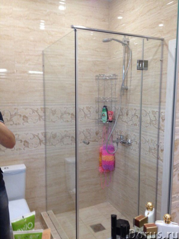 Стеклянные душевые перегородки - Товары для дома - Если у вас нет желания устанавливать в ванной ком..., фото 1