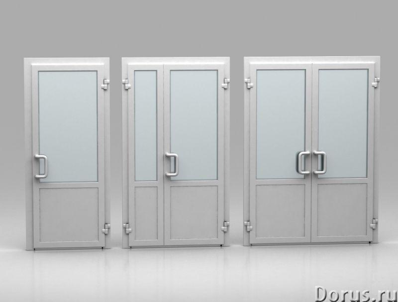 ПВХ двери - Материалы для строительства - Система KBE 58 предоставляет возможность проектирования вх..., фото 1